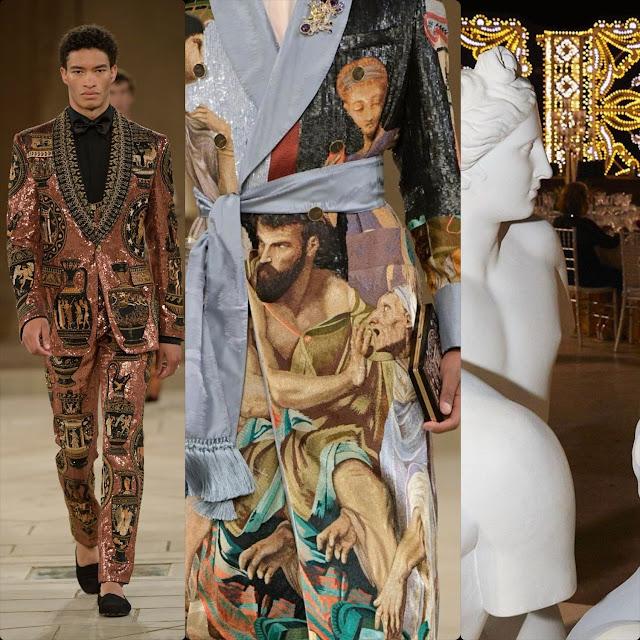 Dolce & Gabbana Alta Sartoria Palazzo dei Gesuiti Sciacca Fall-Winter 2019-2020 by RUNWAY MAGAZINE