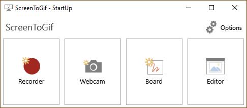 Program untuk rekam layar monitor jadi GIF dan video