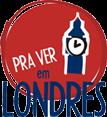 """Logo """"Pra ver em Londres"""""""