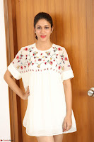 Lavanya Tripathi in Summer Style Spicy Short White Dress at her Interview  Exclusive 181.JPG