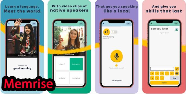 تطبيق Memrise المجاني لتعلم اللغة الإنجليزية في أي وقت وفي أي مكان على هاتفك