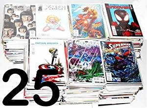 Click here to purchase 25 Comic Book Lot at Amazon!