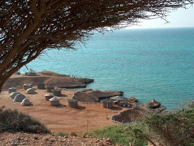ジブチの海岸