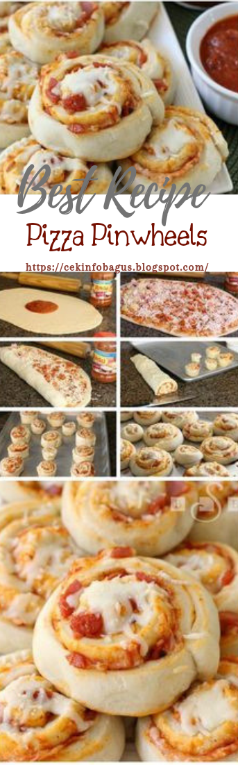Pizza Pinwheels #dinnerrecipe #food