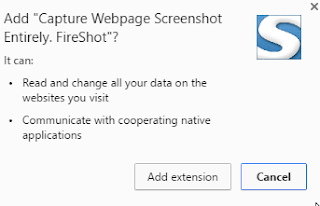Capture Webpage Entirely Fireshot