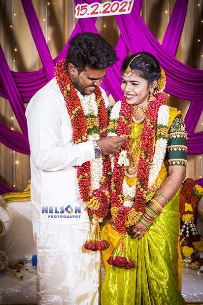Vishnu & Nivetha wedding photography camcrow