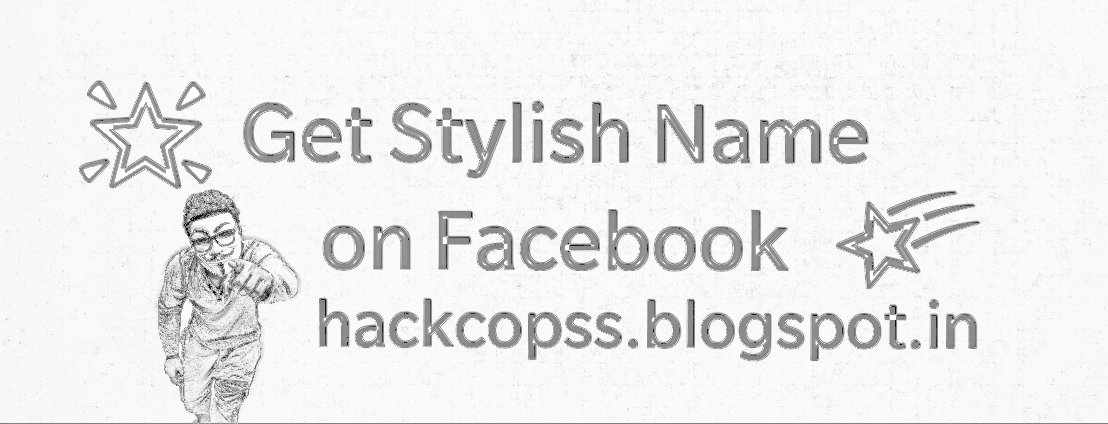 How To Write Your Name In Stylish Fonts Facebook Account