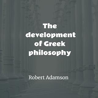 development of Greek philosophy