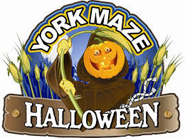 york halloween. york maze - halloween by day