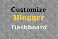 Customize Layout for Blogger