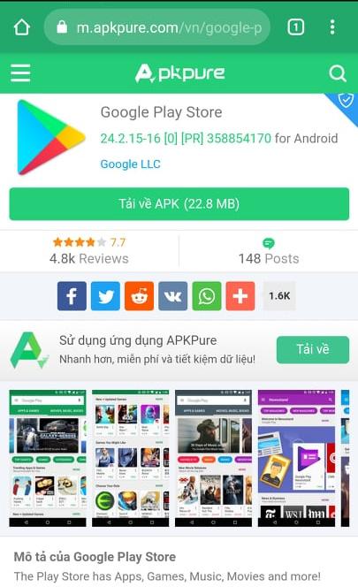 Tải APKPure - Công cụ tải Apk trực tuyến trên APKPure.Com miễn phí f