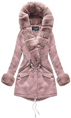 Bawełniane kurtki damskie z futrem na jesień i zimę