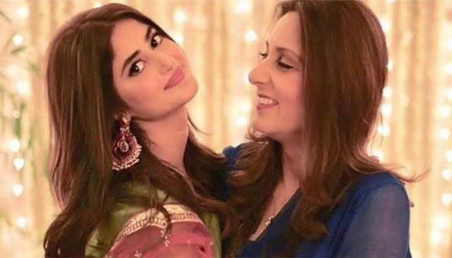 Sajal Ali's mother-in-law having Best Ramadan with Sajal at Home