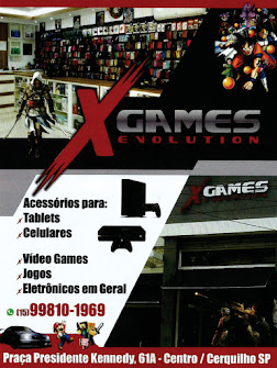 X GAMES EVOLUTION Tablets, Celulares, Vídeo Games