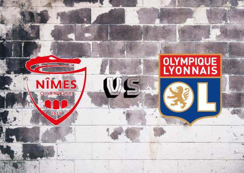 Nîmes vs Olympique Lyonnais  Resumen