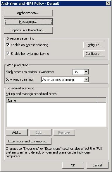 Konfigurasi Policy Sophos Enterprise Console - Media Informasi