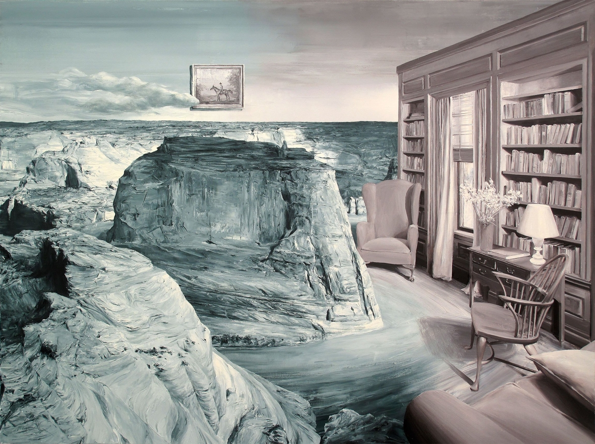 16-Adam-s-Office-Paco-Pomet-Surreal-Paintings-Based-Back-in-History-www-designstack-co