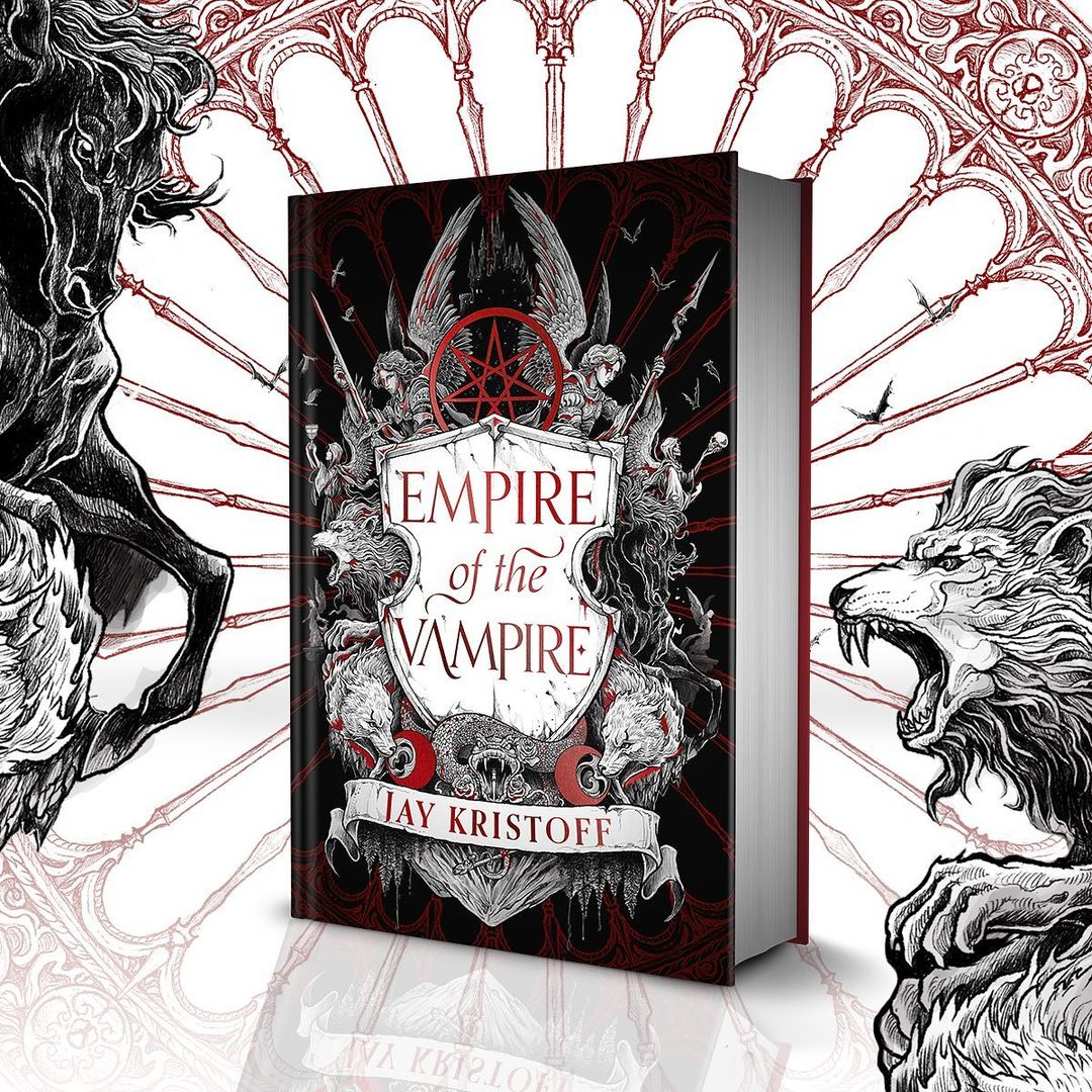 Banner: Empire of the Vampire by Jay Kristoff