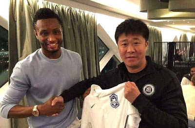 FOOT BALL LEGEND JOHN MIKEL OBI