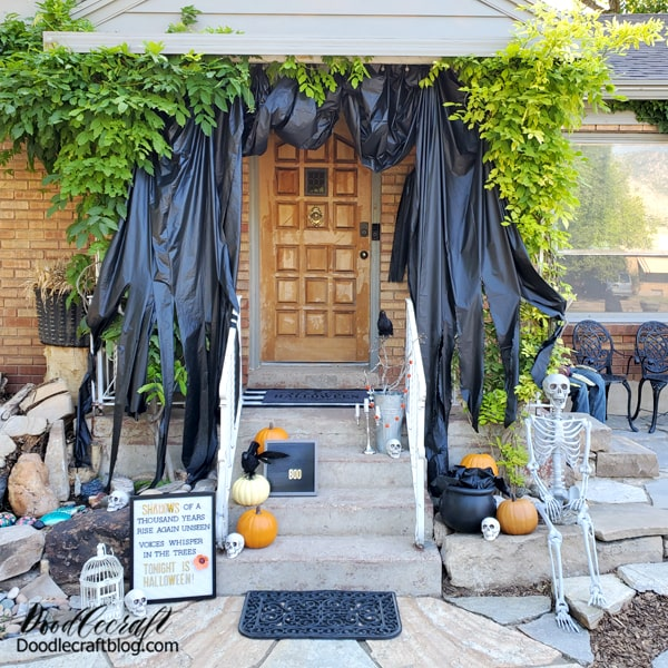 Halloween Porch Decorations with Oriental Trading! It's time! The best time of year--it's nearly Halloween! Decorate your porch for the holiday with goodies from Oriental Trading.