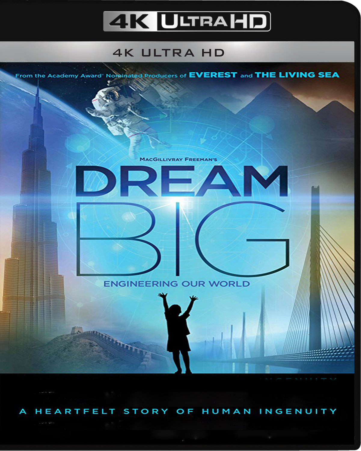 Dream Big: Engineering Our World [2017] [UHD] [2160p] [Latino]