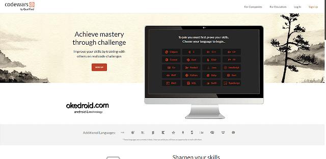 Situs Web Codewars