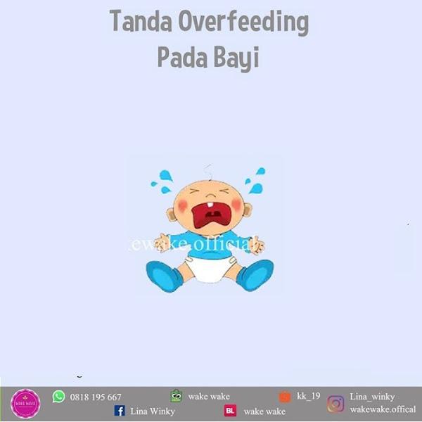 Tanda Overfeeding Pada Bayi