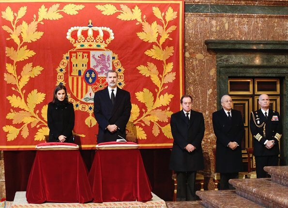King Felipe, Queen Letizia. former King Juan Carlos, former Queen Sofia, Princess Beatrix, infanta Elena and infanta Cristina