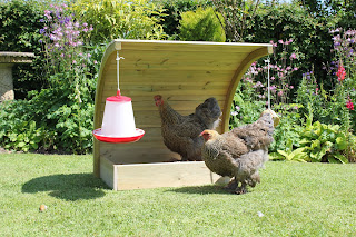 Curved Timber Hen House Made in UK