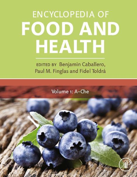 Encyclopedia of Food and Health, Volume 1 - 5