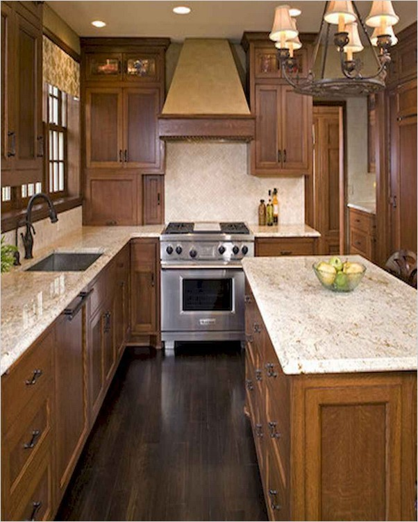 √√ Honey Oak KITCHEN Cabinets   Home Interior Exterior ...