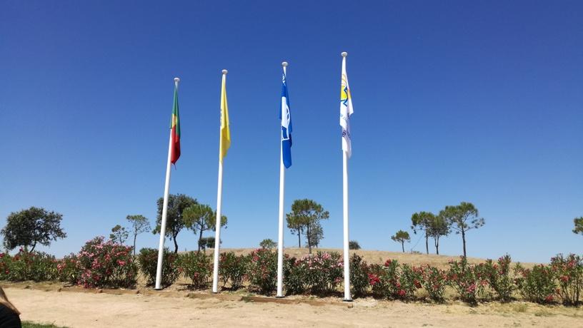 Praia de bandeira Azul