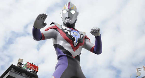 Video Dibalik Layar Pembuatan Film Ultraman