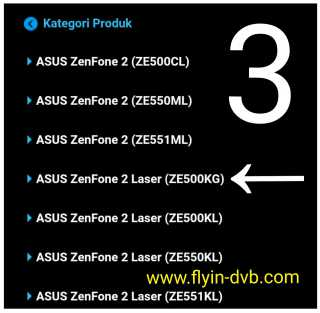 Cara Upgrade Asus_Z00RD Zenfone 2 Laser ZE500KG ke Android 6.0 Marshmallow