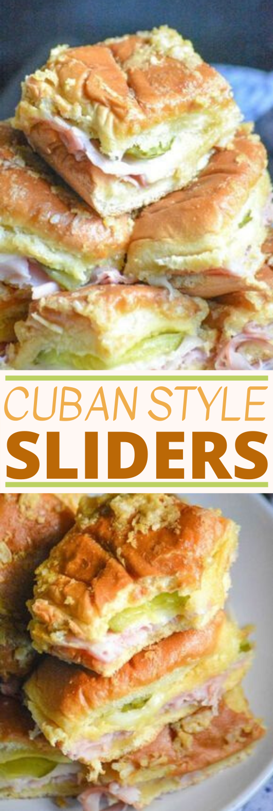 Cuban Style Sliders #lunch #appetizers #dinner #party #fingerfood