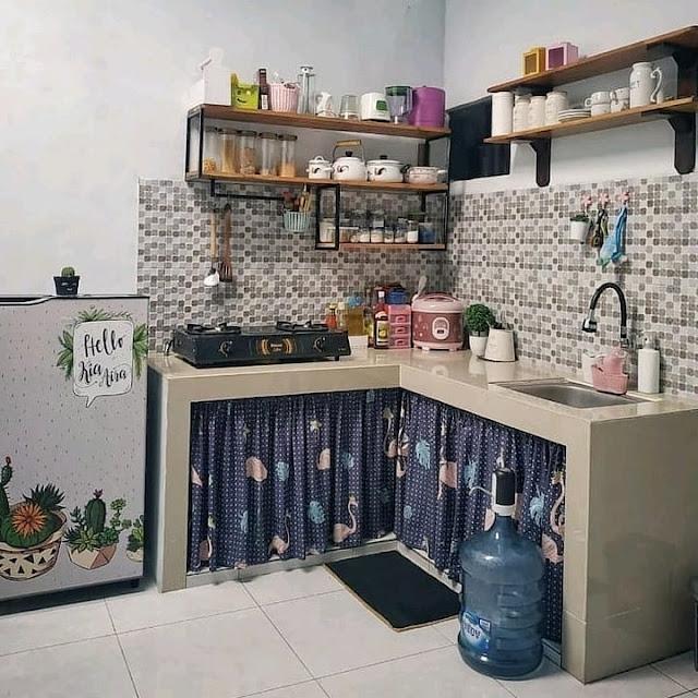 Motif Keramik Dinding Dapur Minimalis Terbaru