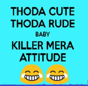 best atitude status in hindi