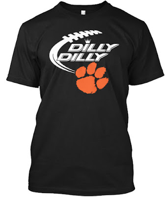 Clemson Tigers Dilly Dilly T Shirt