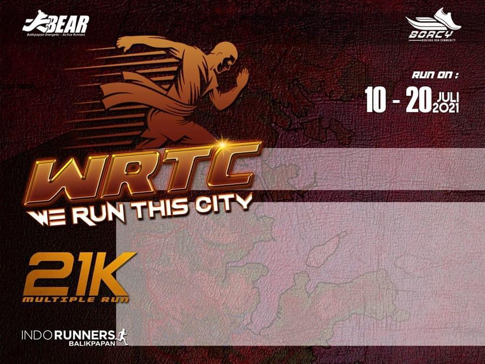 e-Bib 💳 We Run This City - Bontang Edition • 2021