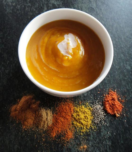Worth Pinning Fifteen Spice Butternut Squash Soup