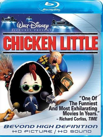 Chicken Little 2005 Dual Audio Hindi 480p BluRay 280mb