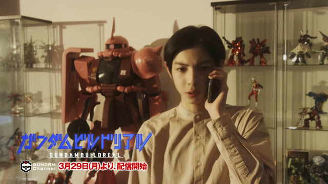 Gundam Build Real Live-Action Project has been Announced
