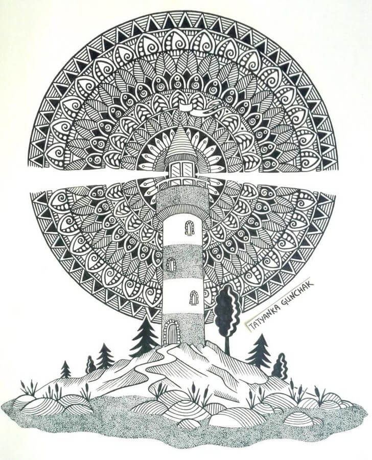 Lighthouse by T. Gunchak