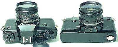 Contax 137 MA Body #590, Yashica ML 50mm 1:1.9 #214