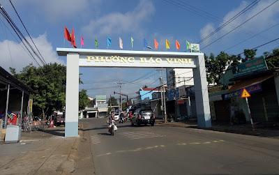 Bán nhà đất tại phường Bảo Vinh Tp. Long Khánh
