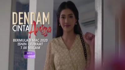 Senarai Pelakon Drama Dendam Cinta Arissa (Drama Vaganza)