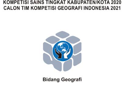 Soal dan Pembahasan KSN Geografi tingkat Kabupaten/Kota tahun 2020 (KSK)