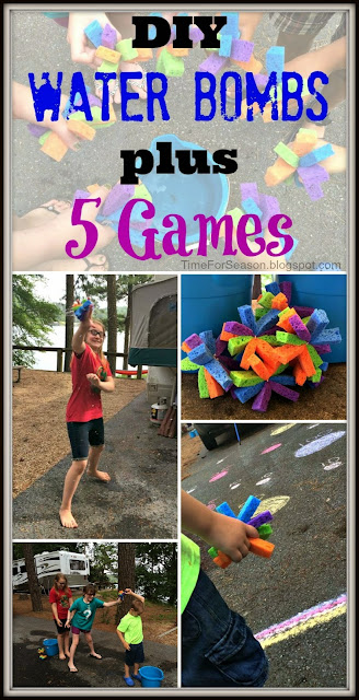 DIY Water Bombs Plus 5 Games