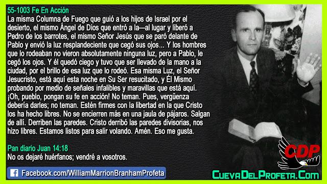 Salgan de la jaula ahora - William Branham en Español