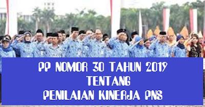 Penilaian Kinerja Pegawai Negeri Sipil Berdasarkan PP Nomor 30 Tahun 2019